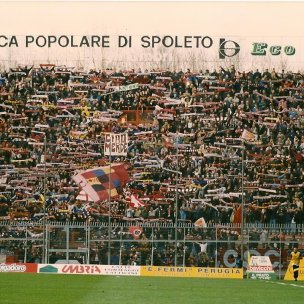 Perugia-Salernitana, settore ospiti