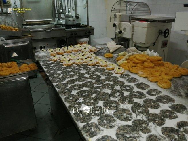 Cornetti e zeppole ai tempi del coronavirus: Finanza scopre 3 pasticcerie aperte nel Salernitano - aSalerno.it