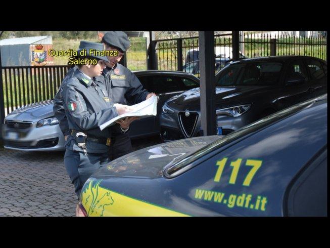 Evasione fiscale con 98 auto: sequestro da 1 milione e mezzo di euro nella Piana del Sele - aSalerno.it