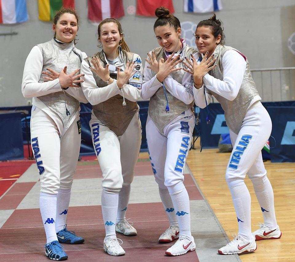 ITALIA Fioretto femminile GIOVANI PARENZO2020