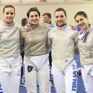 ITALIA Sciabola femminile ATENE2020