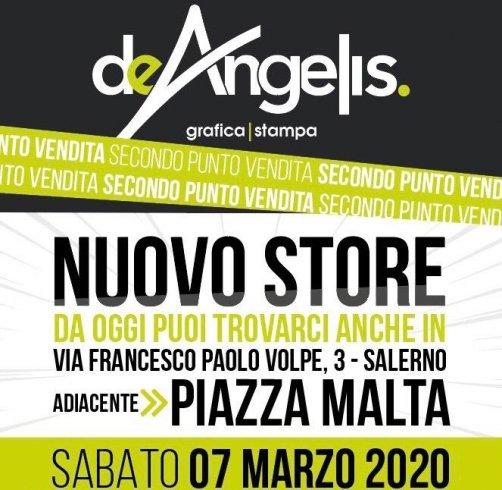 De Angelis Grafica e Stampa, nuovo store in piazza Malta - aSalerno.it