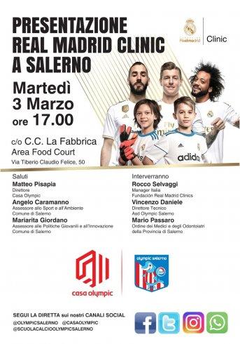 Real Madrid Clinic a Salerno, questo pomeriggio la presentazione - aSalerno.it