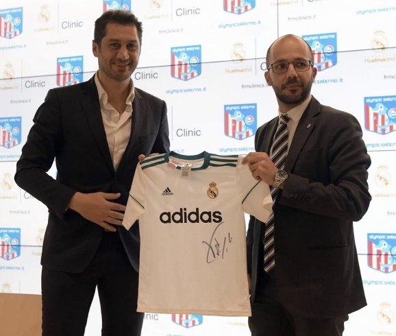 Olympic Salerno, presentato il Real Madrid Clinic - aSalerno.it