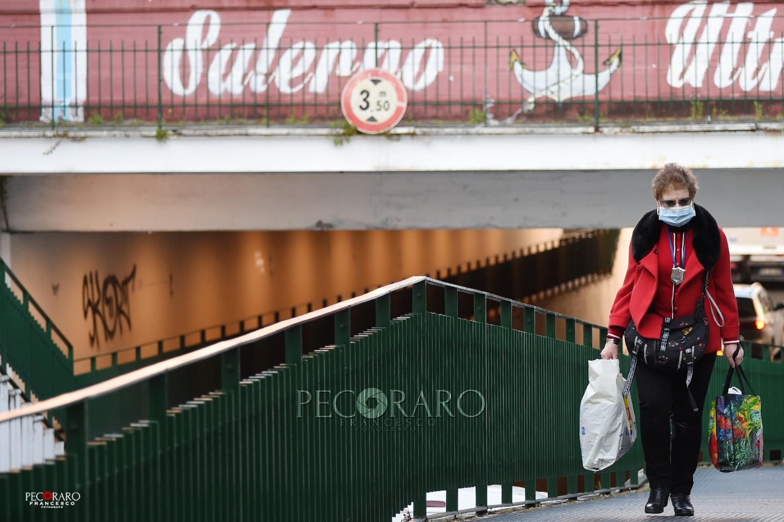 commercio negozi covid coronavirus Salerno lavoro spesa