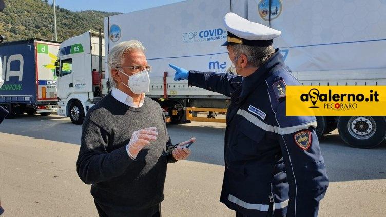 """Salerno, il sindaco: """"Situazione in città sotto controllo, atteggiamento di tutti sia prudente"""" - aSalerno.it"""