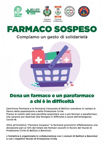 """Bellizzi, Farmacie Sant'Anna lanciano il """"farmaco sospeso"""" - aSalerno.it"""