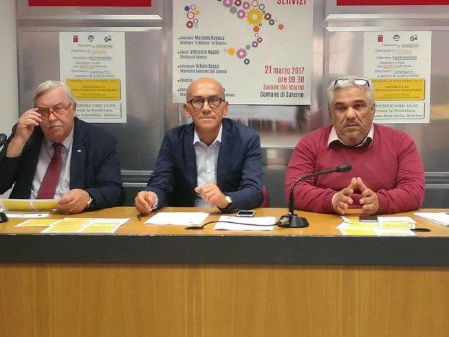 """Cgil, Cisl e Uil, summit con il Prefetto: """"Verifiche su aziende, lavoratori e residenze sanitarie assistenziali"""" - aSalerno.it"""