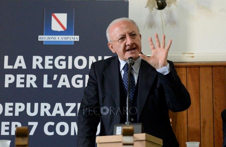 """De Luca e il """"patto per la riapertura"""" - aSalerno.it"""
