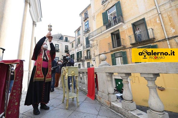 San Matteo ai tempi del Covid, la giornata di lunedì - aSalerno.it
