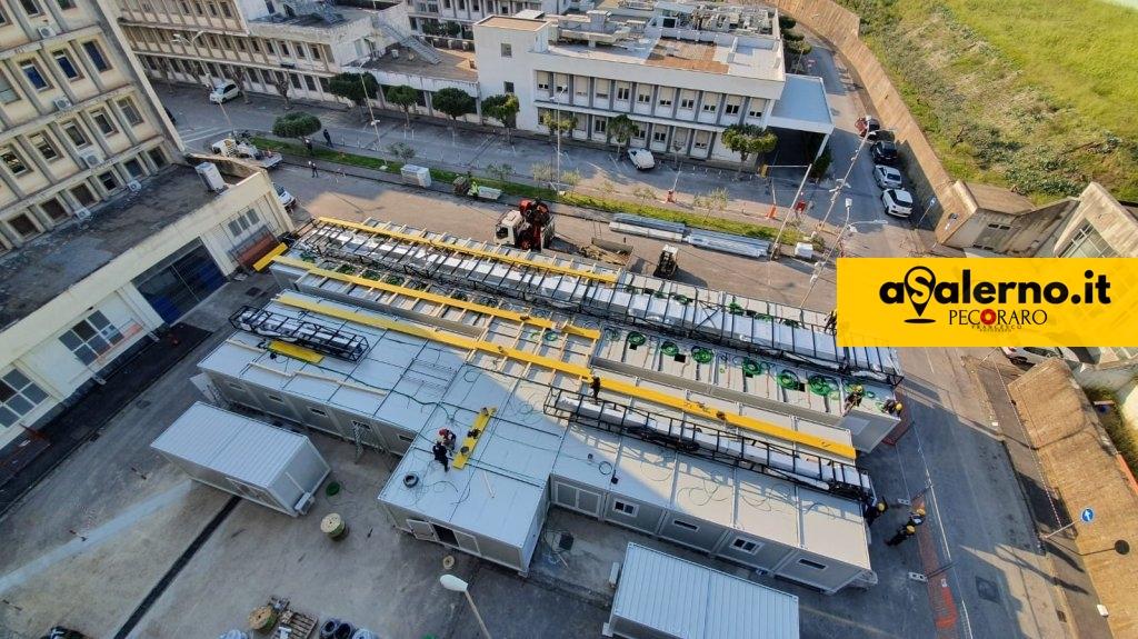 Ospedale modulare Ruggi Covid Salerno