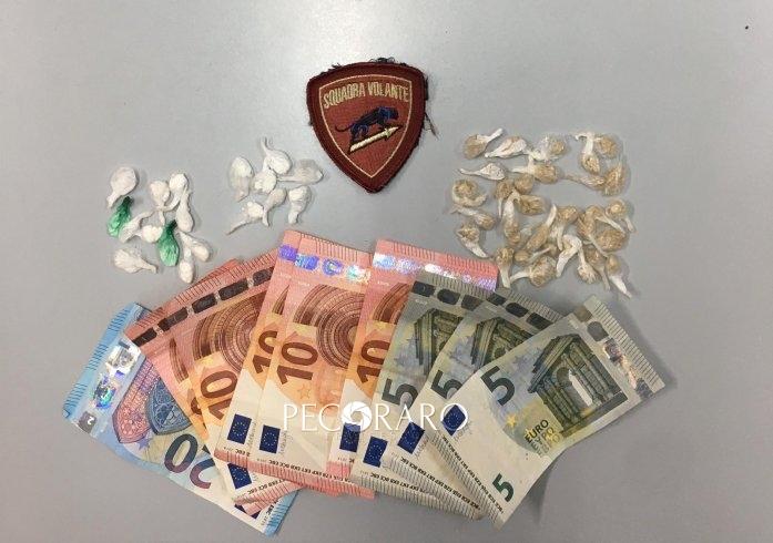 Salerno, fermato con 49 involucri di cocaina ed eroina - aSalerno.it