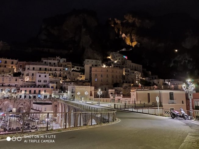 Atrani, nuove luci al led in strada – LE FOTO - aSalerno.it