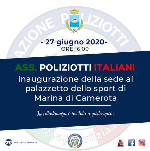 A Camerota nasce la nuova sede dell'associazione Poliziotti Italiani - aSalerno.it