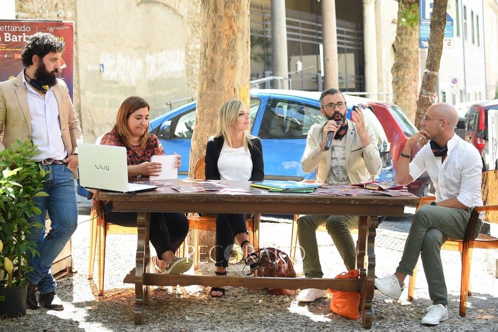 Sal - 26 06 2020 Salerno. Presentazione Aspettando i Barbuti.
