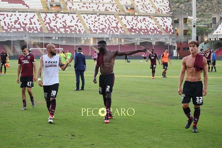 Salernitana-Pisa, le pagelle: Djuric gol e sacrificio, bene Aya - aSalerno.it