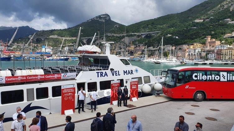 Terra-mare, biglietto unico: presentato nuovo servizio che unisce Divina, Cilento e Salerno - aSalerno.it