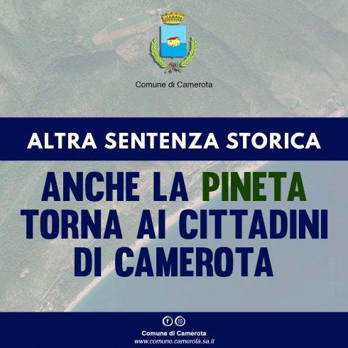 Camerota, altra sentenza storica: dopo il castello anche la Pineta torna ai cittadini - aSalerno.it