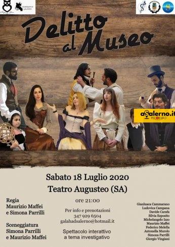 All'Augusteo il Delitto al Museo - aSalerno.it