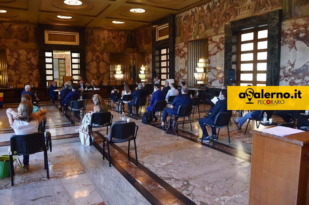 SAL - 27 07 2020 Salerno Comune. Consiglio comunale. Foto Tanopress