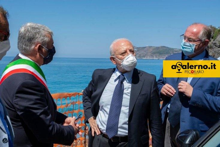 """De Luca: """"Noi restiamo la Regione più sicura d'Italia"""" - aSalerno.it"""