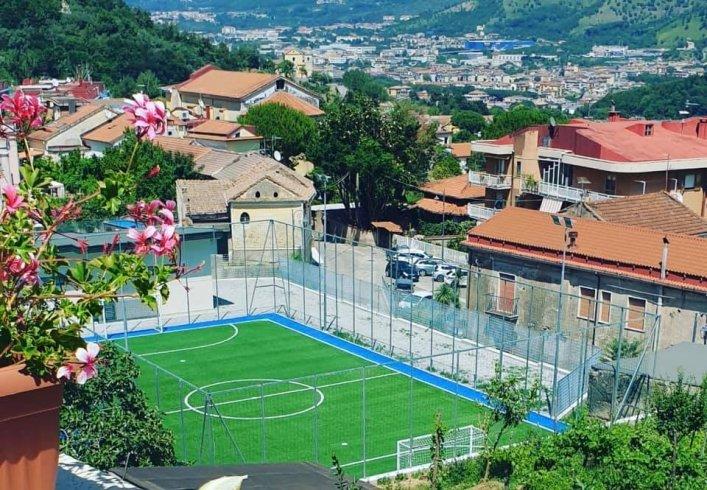Baronissi, inaugurato il campo di calcio a cinque a Caposaragnano - aSalerno.it