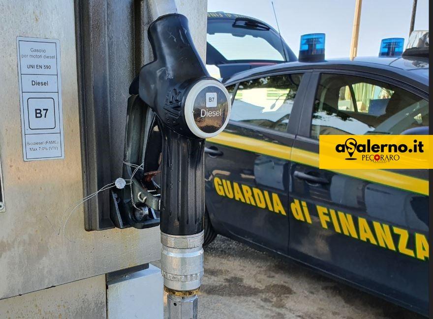 Benzina Finanza gasolio distributore