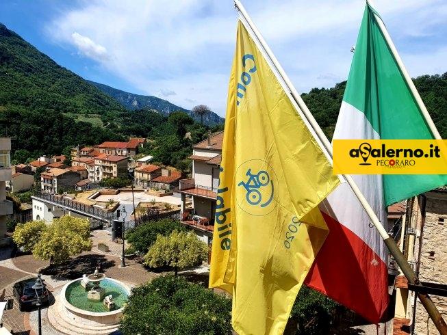 """Piaggine riceve la """"bandierina gialla"""" e diventa ufficialmente """"Comune Ciclabile"""" - aSalerno.it"""