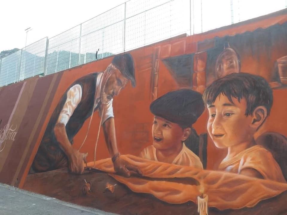 foto murales caposaragnano