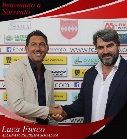 Luca Fusco è il nuovo allenatore del Sorrento - aSalerno.it