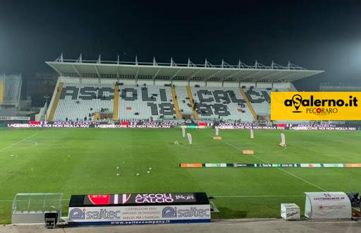Salernitana, serata in bianco e nero: Ascoli avanti - aSalerno.it