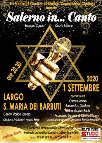 Salerno in.. Canto, quarta edizione martedì 1 settembre - aSalerno.it