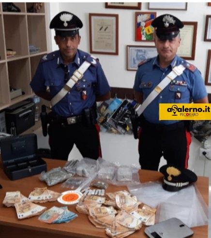 Hashish, marijuana e cocaina, casa di spaccio vicino le Fonderie Pisano: arrestata una donna incinta - aSalerno.it