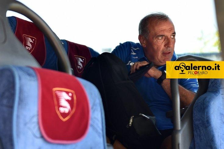 Tutti sul pullman, la Salernitana parte per il ritiro – LE FOTO - aSalerno.it
