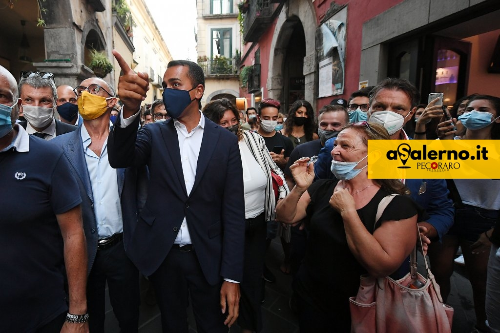 sal - 29 08 2020 Cava dei tirreni Ministro Luigi di maio.