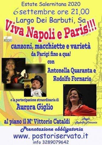 Barbuti, canzoni, macchiette e varietà da Parigi - aSalerno.it