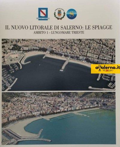 """Un'unica grande spiaggia da Santa Teresa e piazza della Concordia, Salerno si """"rivoluziona"""" - aSalerno.it"""