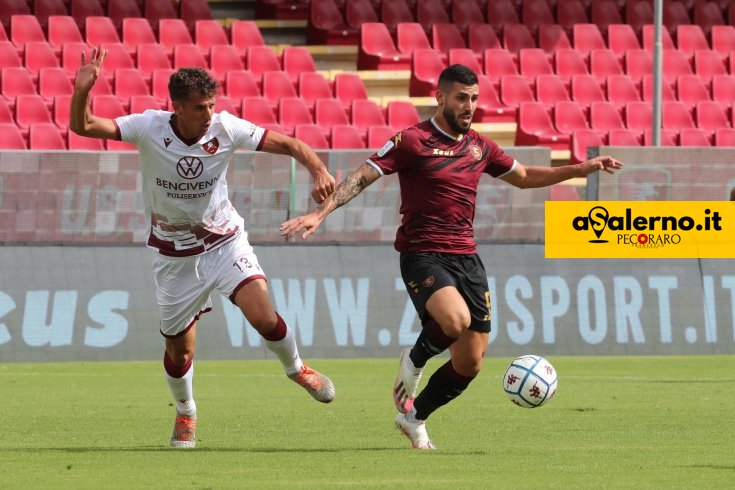 Salernitana-Reggina 1-1, le pagelle dei granata - aSalerno.it