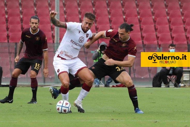Castori conferma Djuric-Tutino, Veseli dal 1′ - aSalerno.it