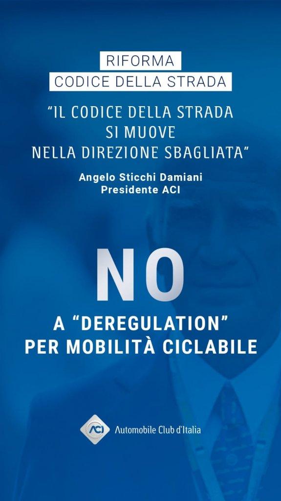 No a deregulation per mobilità ciclabile