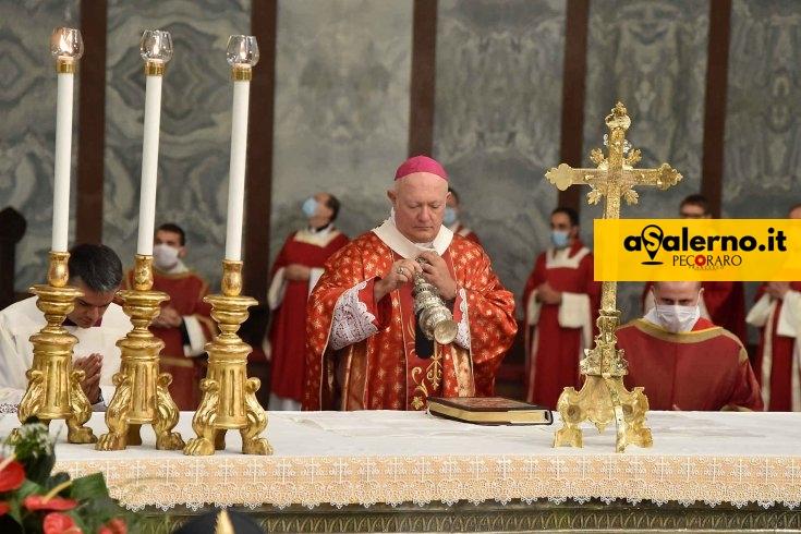 Messa dell'Immacolata, celebrata in forma privata da Monsignor Bellandi - aSalerno.it