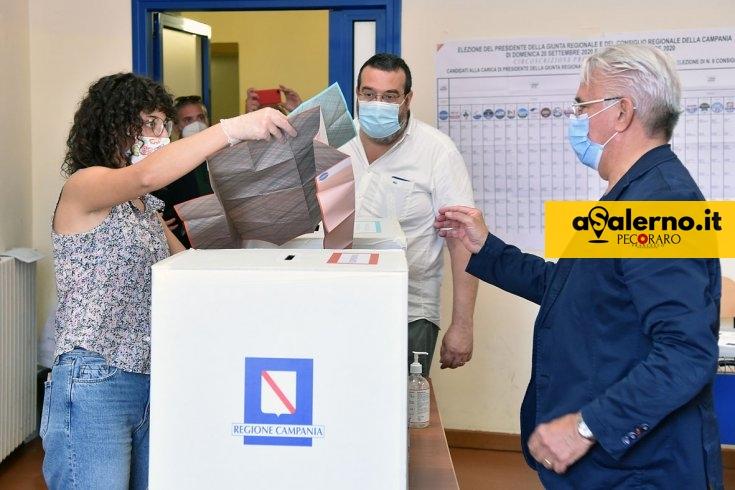 Affluenza a Salerno, superato il 40%. Votano anche elettori in quarantena - aSalerno.it