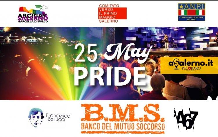 """Diritti e lavoro a Salerno, ecco il """"25 May Pride"""" - aSalerno.it"""