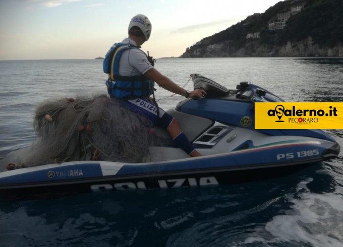 Fuenti, scoperta dalla Polizia una rete da pesca illegale - aSalerno.it