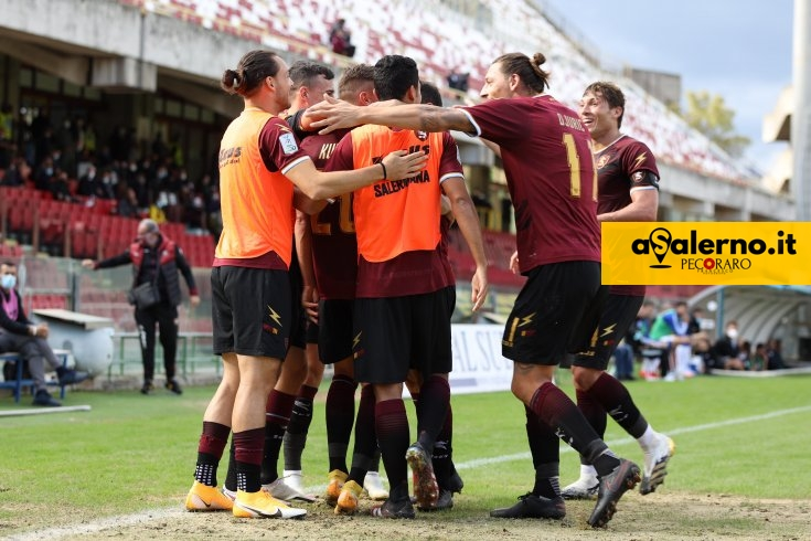 Salernitana-Pisa 4-1, le pagelle granata - aSalerno.it