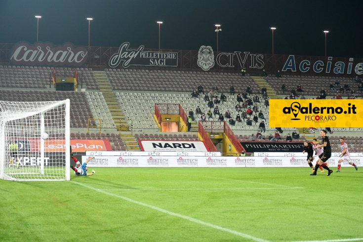 Salernitana di rigore, Vicenza di testa (1-1 pt) - aSalerno.it