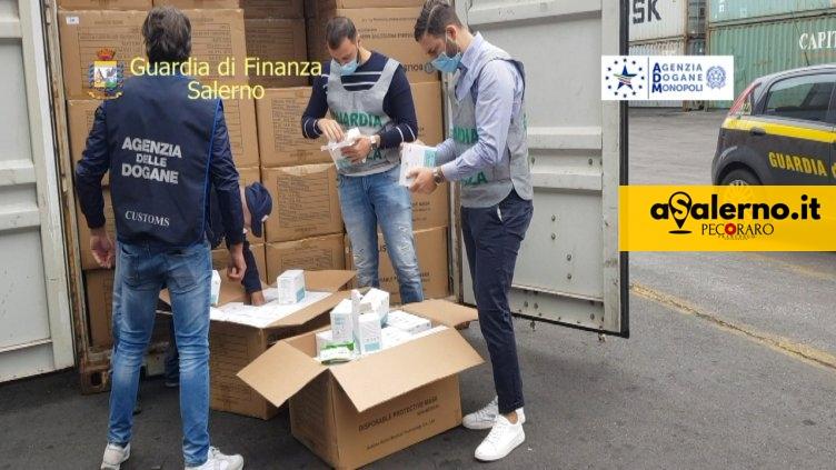 Maxi sequestro nel Porto di Salerno: oltre mezzo milione di mascherine non a norma - aSalerno.it
