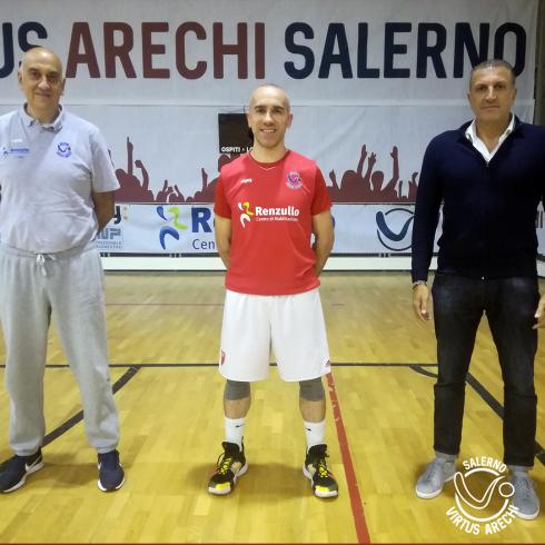 Virtus Arechi, preso il play Marco Rossi - aSalerno.it
