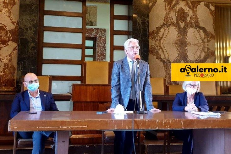 Estate Salernitana, conferenza stampa finale al Salone dei Marmi - aSalerno.it
