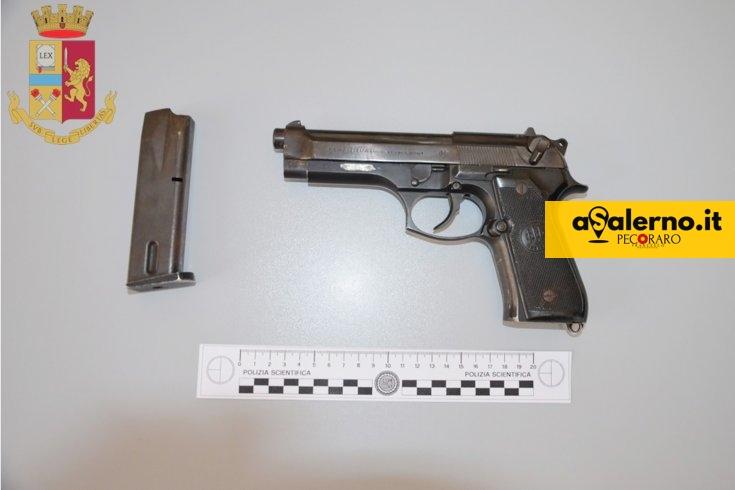 Pistola con matricola abrasa, arrestato dalla Polizia Domenico Stellato - aSalerno.it